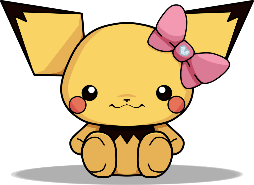 clip library stock Abigail s by xhislittleangel. Pichu drawing kawaii