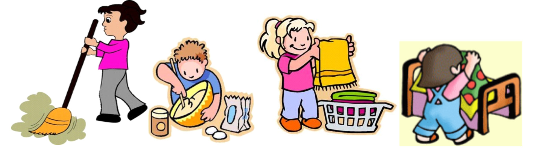 svg stock Chores responsible child . Responsibility clipart for kids