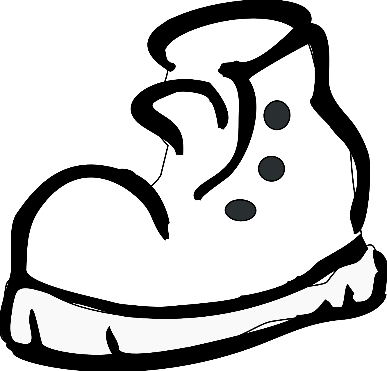 royalty free download Running Shoes Clipart water shoe