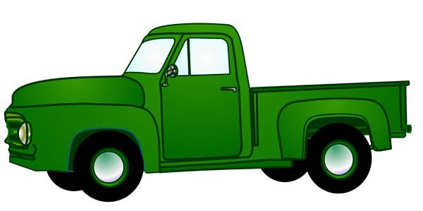 svg free library Ford truck panda free. Pickup clipart.