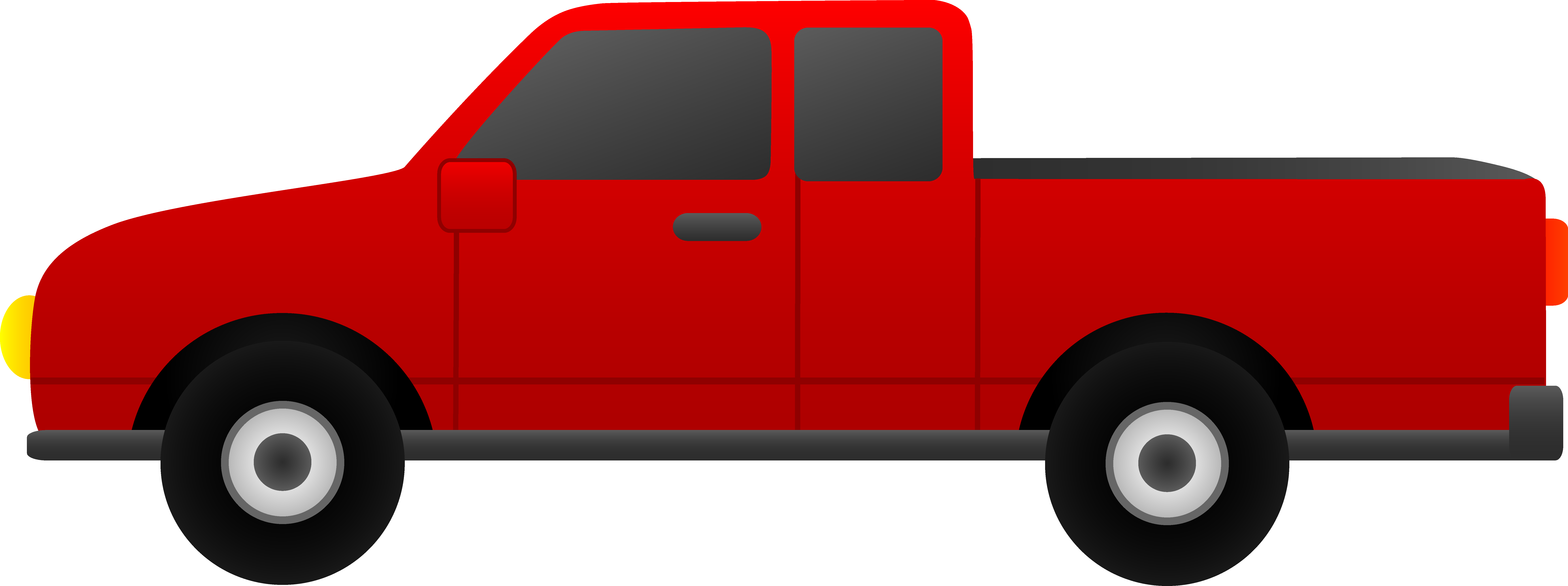 graphic freeuse stock Pickup clipart. Pick up truck .