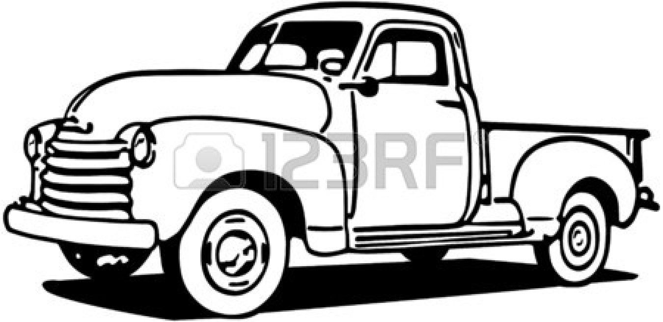 graphic library download Stock vector tees truck. Pickup clipart