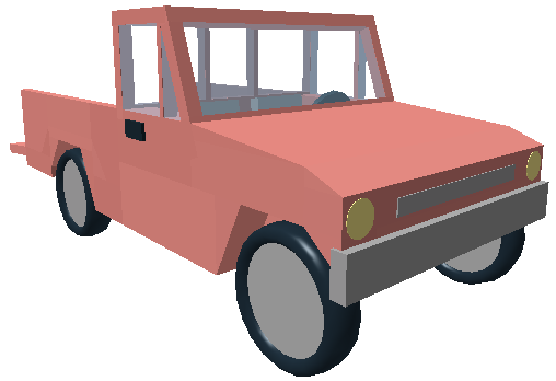 svg free library Pickup Truck