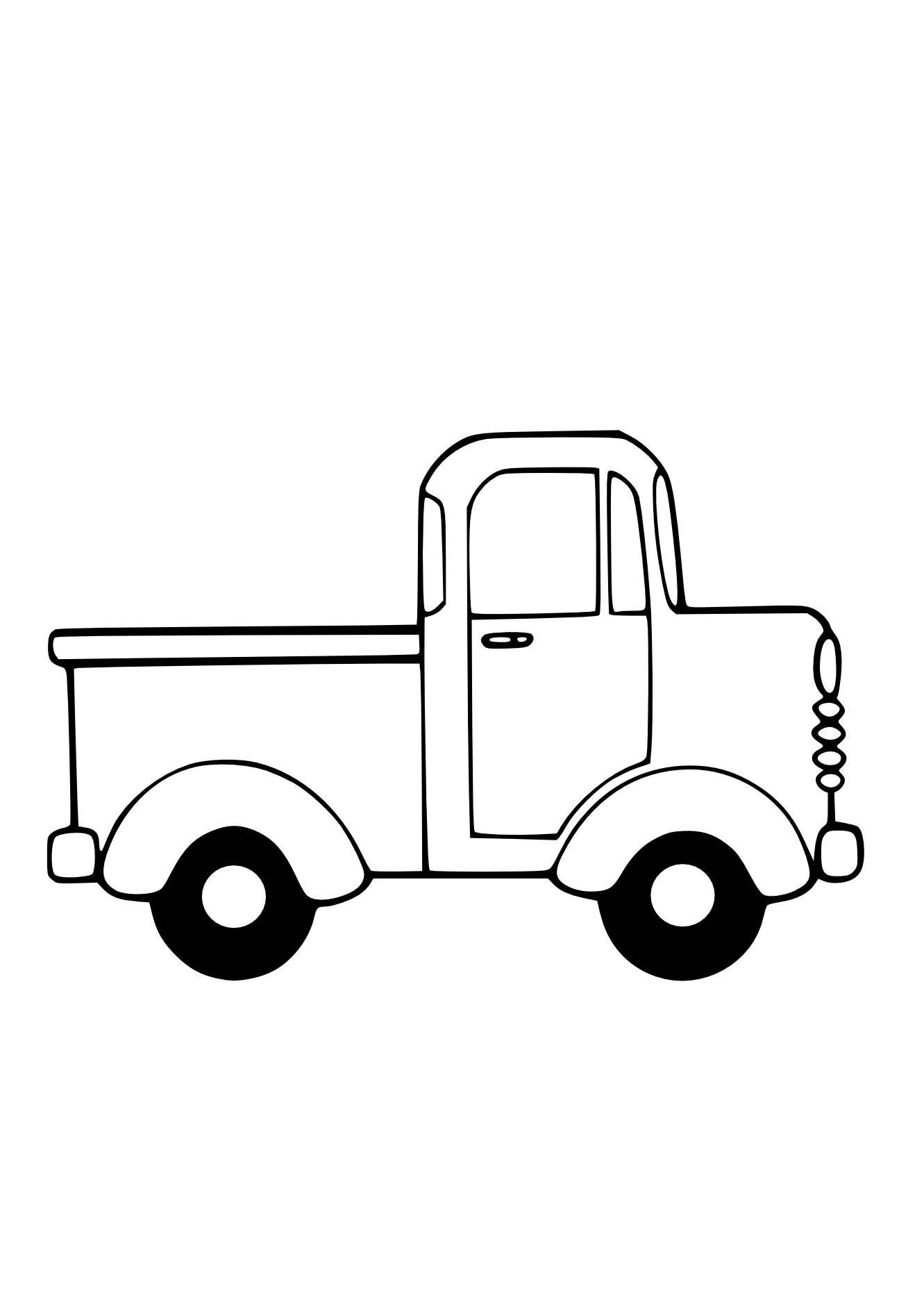 banner royalty free Truck Black White Line Art Christmas Xmas Toy Scalable Vector