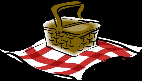 graphic Picnic Basket Drawing at GetDrawings