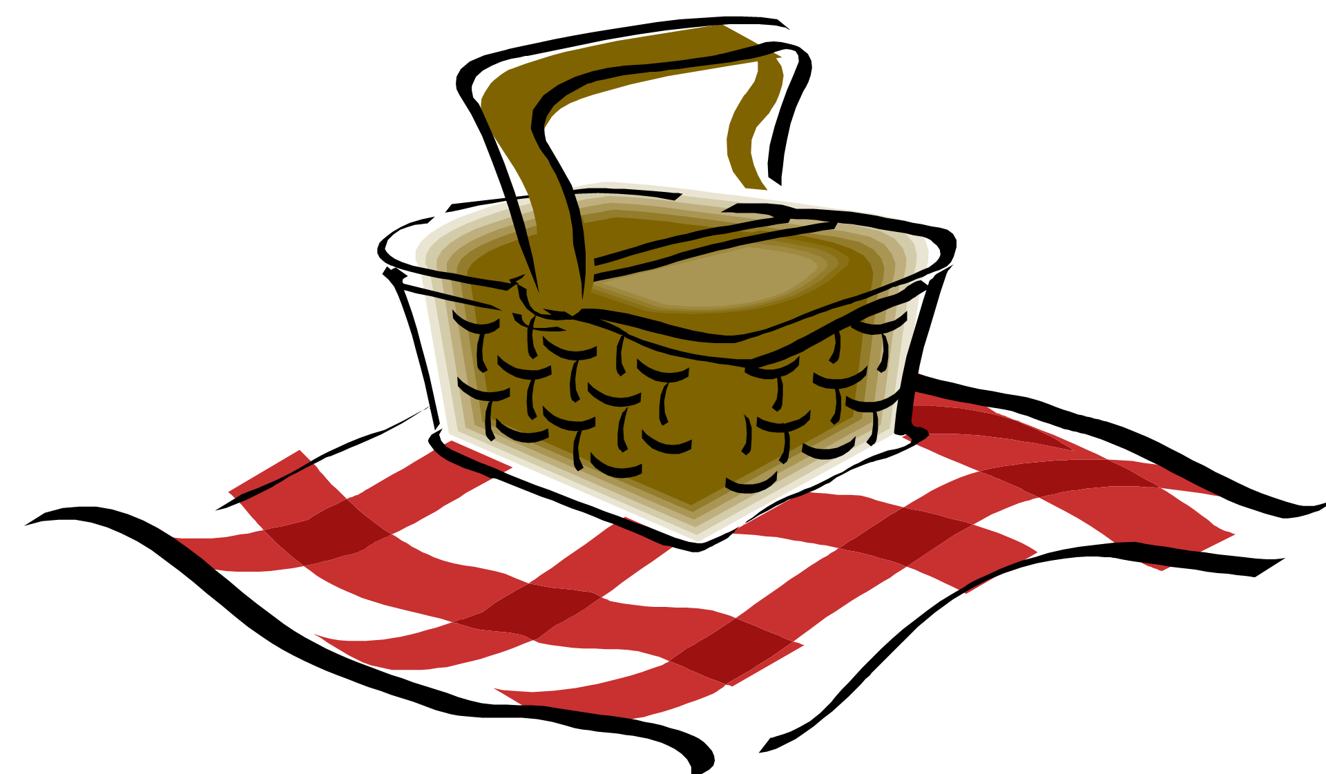 black and white library  collection of transparent. Picnic clipart.