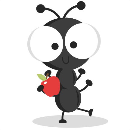 picture royalty free library Dancing ant svg cutting. Picnic ants clipart