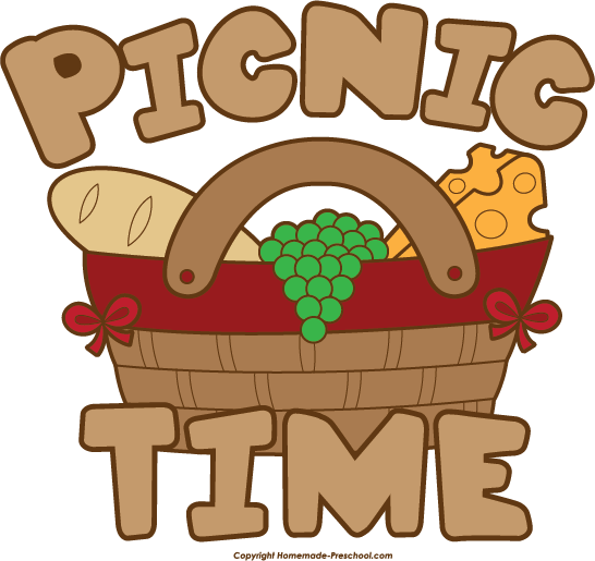 black and white stock Free Picnic Clipart