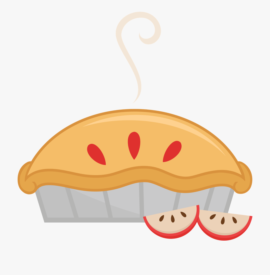 graphic royalty free download Apple png free cute. Pie clipart