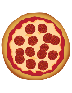 clip transparent library Pepperoni Pizza by