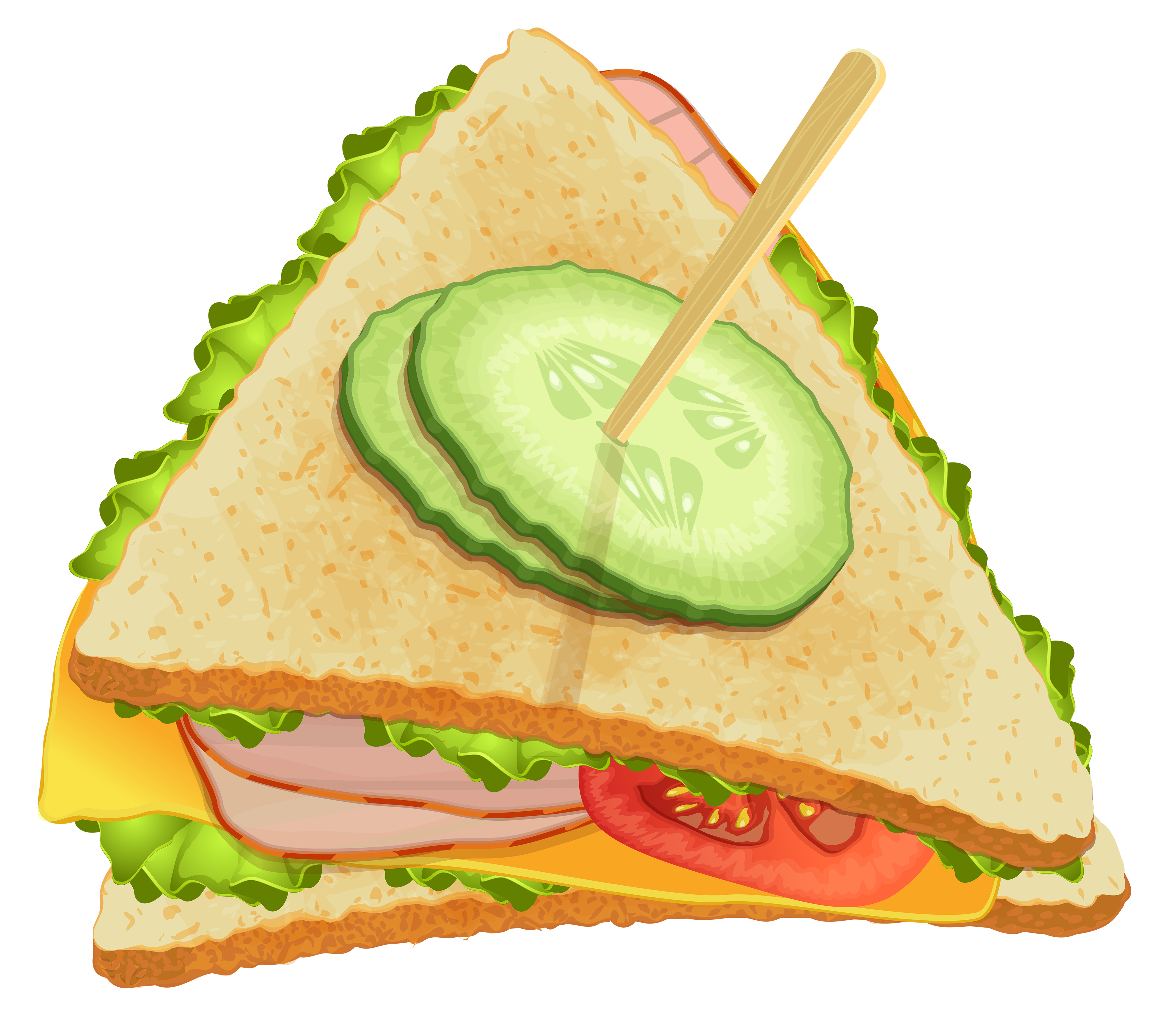 black and white Triangle png best web. Piece clipart sandwich