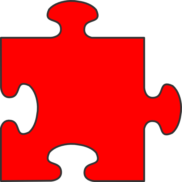 clip art freeuse Puzzle Pieces Drawing at GetDrawings