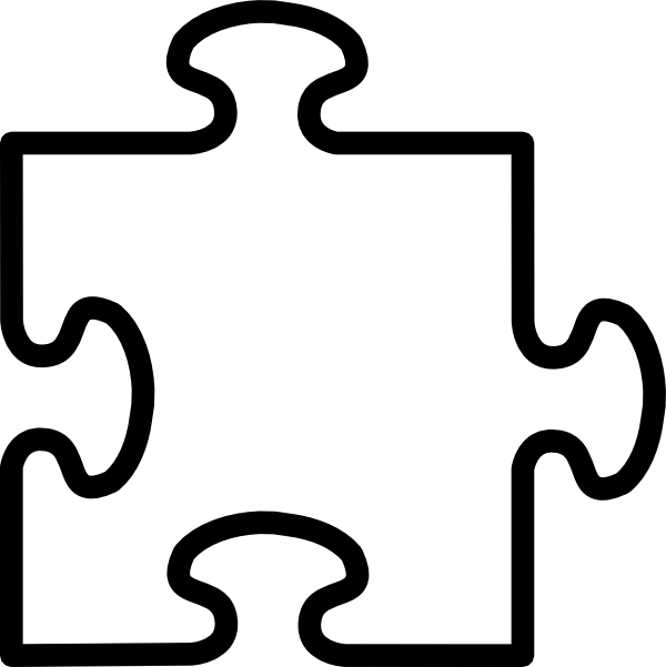 graphic free Puzzles clipart proportion. Blank jigsaw clip art