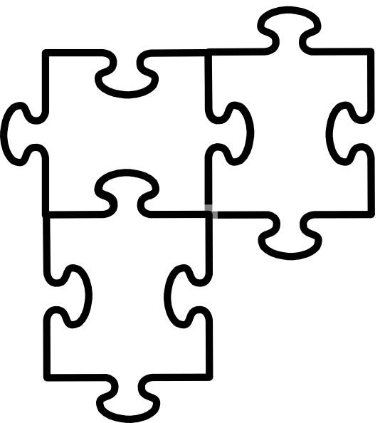 vector library library puzzle piece beads