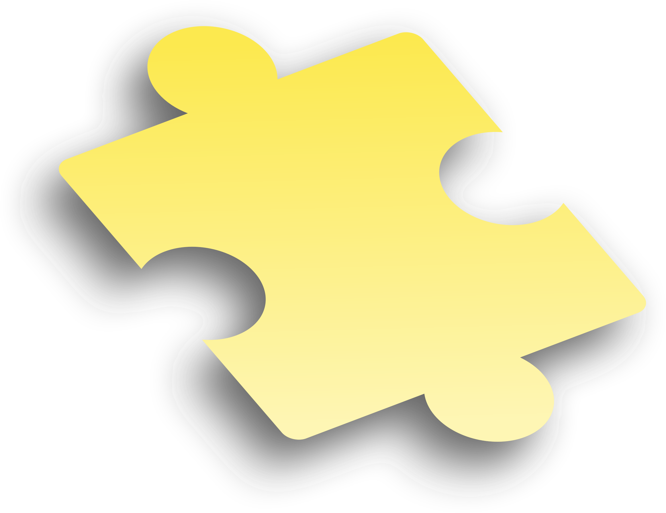 black and white download Pieces clipart yellow. Puzzle piece big image