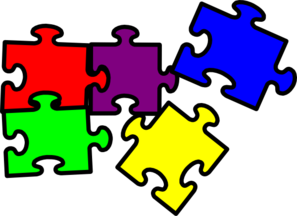 svg free Puzzle Pieces Clip Art at Clker