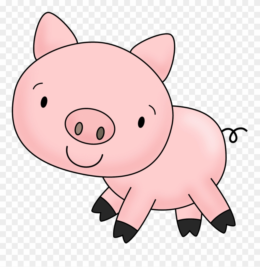 jpg transparent library Picture free dirty pigs. Pig clipart