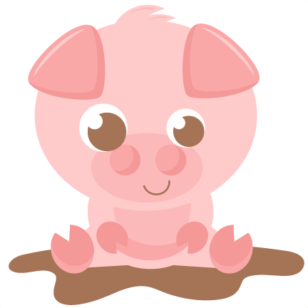 clipart royalty free Pigs clipart baby pig. Svg scrapbook cut file.