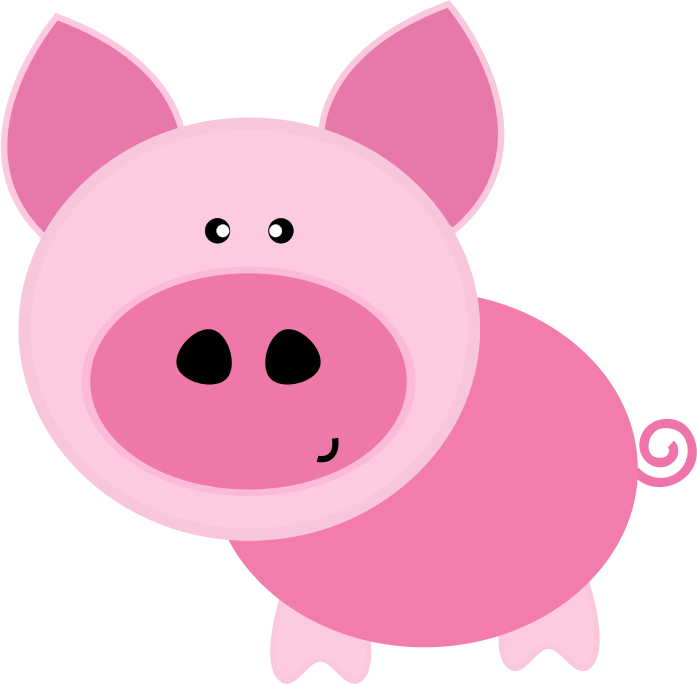 svg royalty free library Download Pig Clip Art