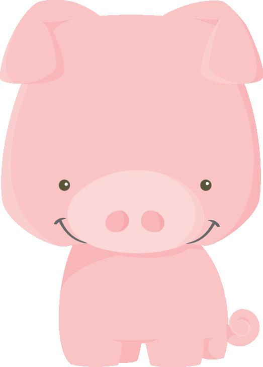 jpg royalty free library Baby farm animal clipart. Fazenda pig png minus