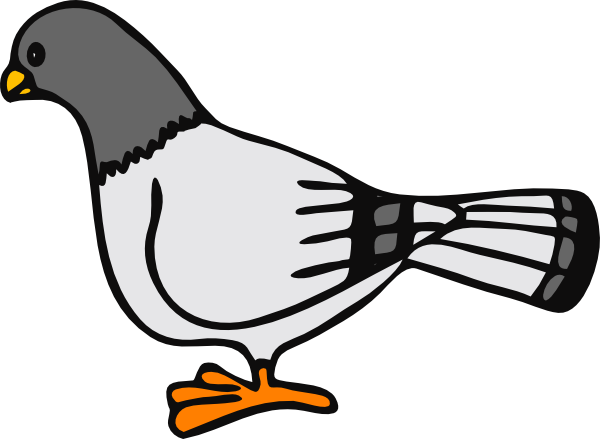 clipart library download Pigeon clipart. Clip art at clker.