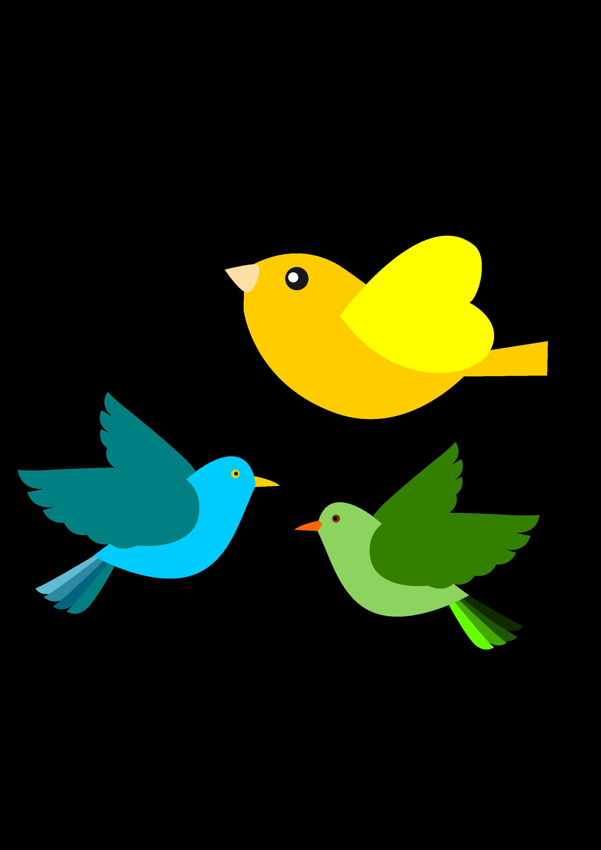 free stock Birds Cartoon Group
