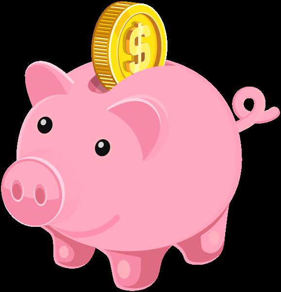 svg royalty free stock Piggy Bank PNG Clip Art Image