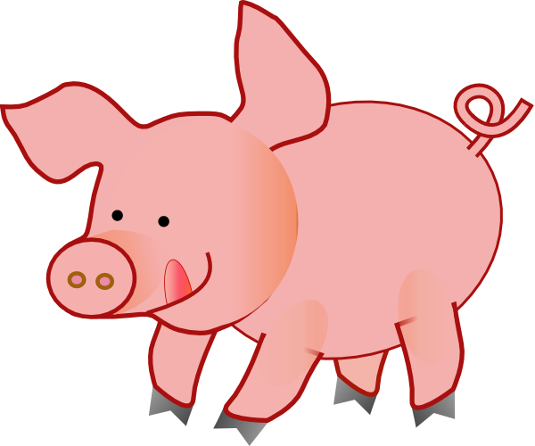 clip art freeuse Pink Piggy Clipart
