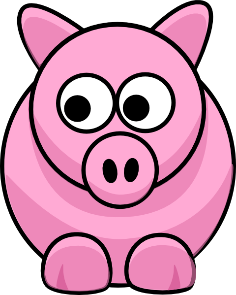 picture royalty free stock Piggy clipart. Clip art at clker.
