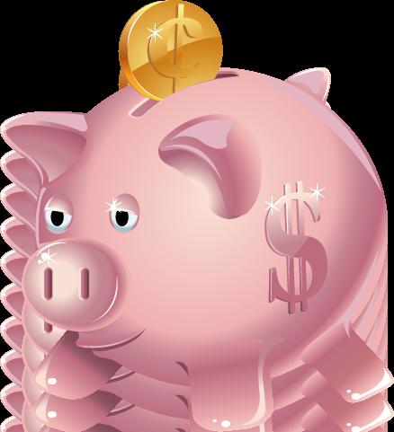 vector stock Vampir clipart money. Bank piggy kid clipartix