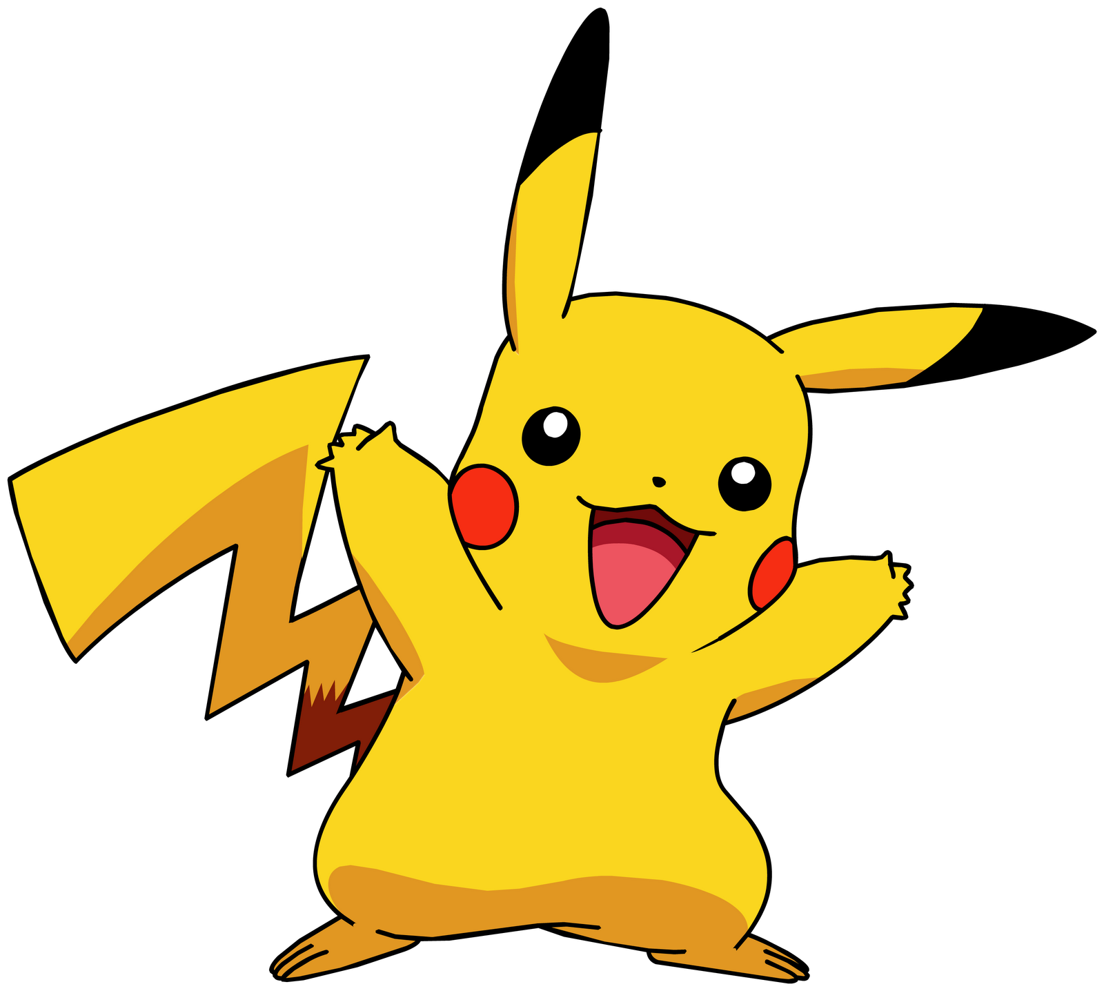 svg transparent library Big free on dumielauxepices. Pikachu clipart.