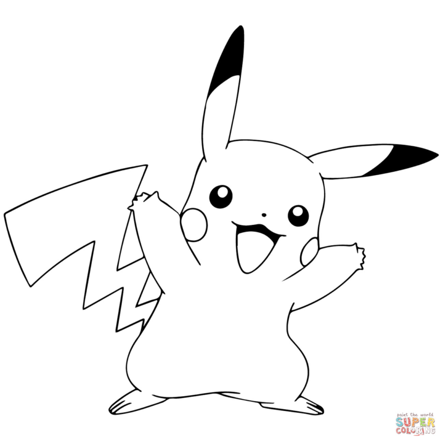 clip art library download Rabbit head . Pikachu clipart black and white