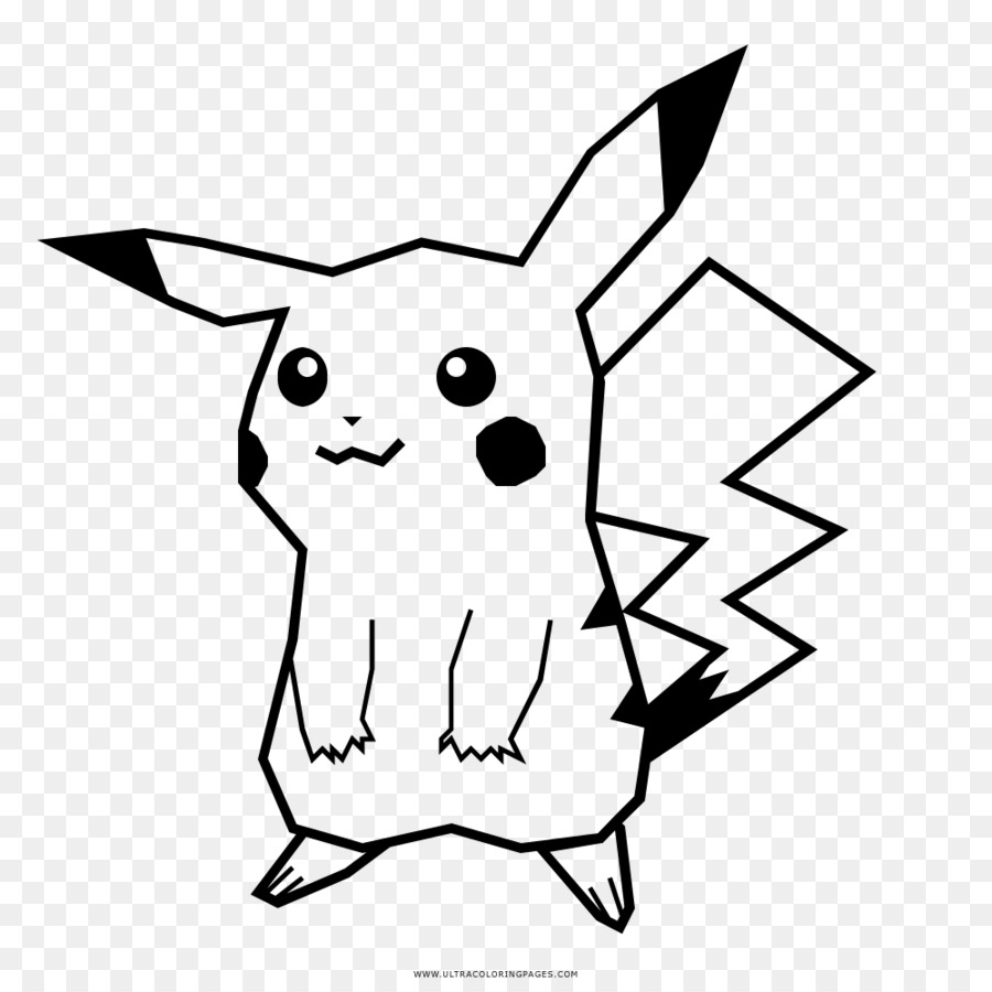 black and white library Pikachu clipart black and white. Head