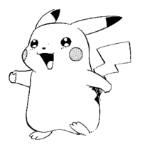 png black and white stock Png transparent goldus. Pikachu clipart black and white