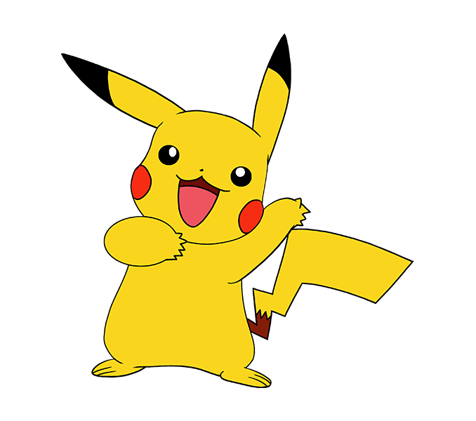 png free download How to Draw a Pikachu