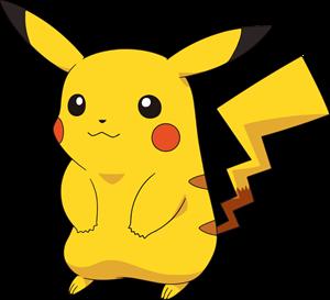 jpg library stock Logo vector free download. Pikachu svg