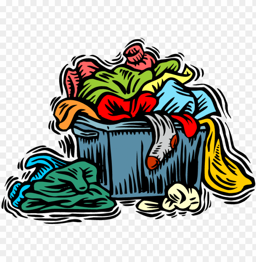 clip library stock Dirty png image . Pile of clothes clipart