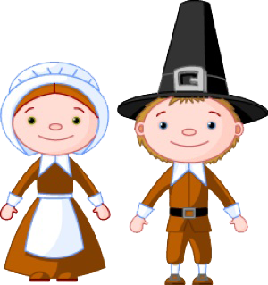 graphic library library Pilgrim clipart. Cute