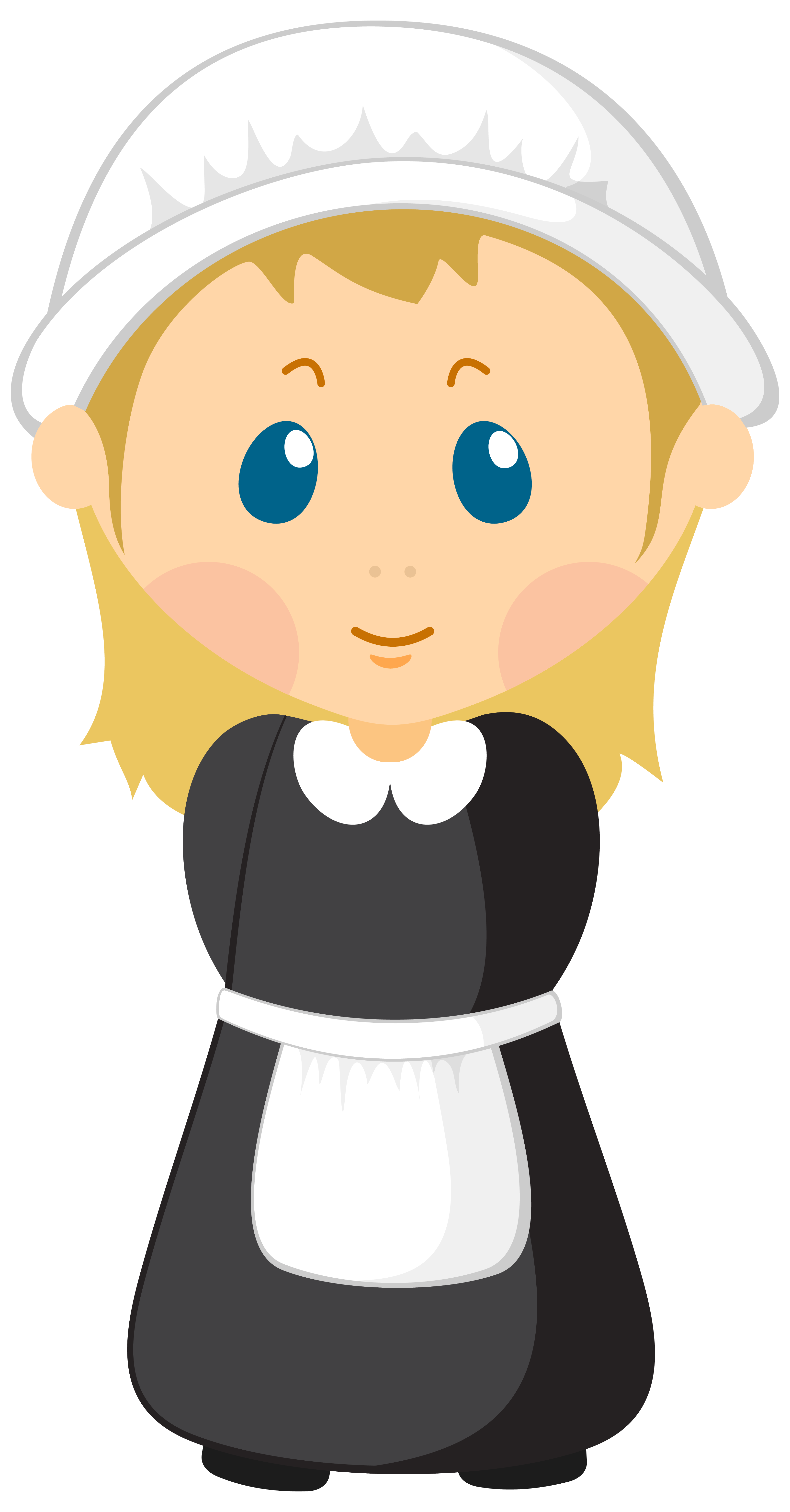 clipart library library Pilgrim clipart. Girl png image gallery