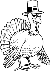 clip free download Turkey wearing hat at. Pilgrim drawing coloring page
