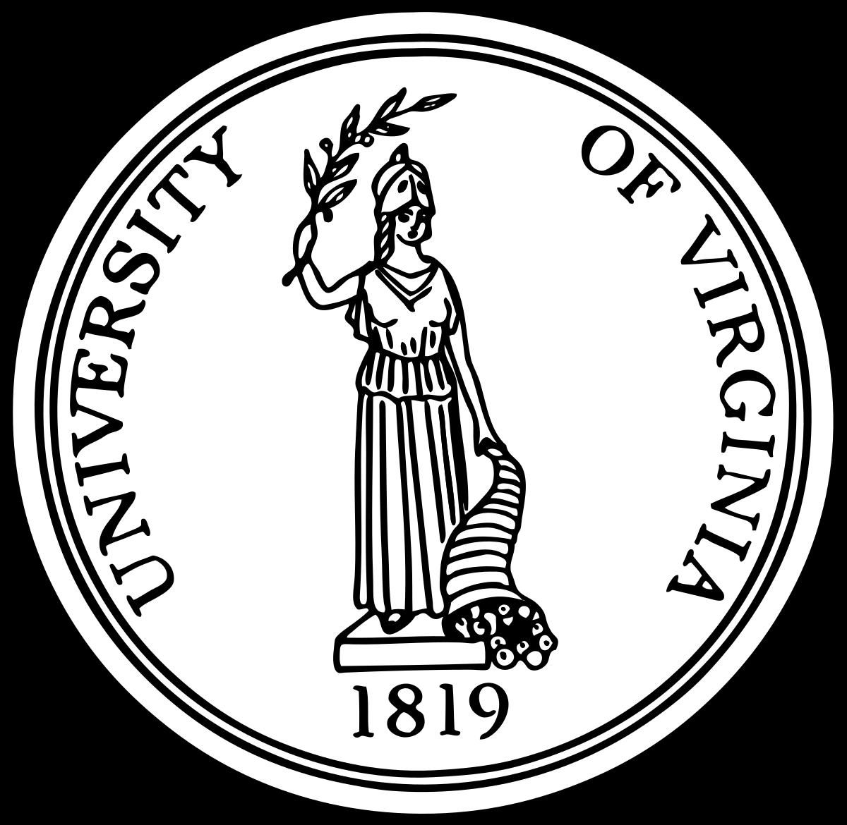 vector download Virginia vector drawing. University of wikipedia