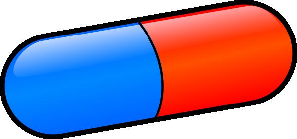 vector free library Pill Clip Art at Clker