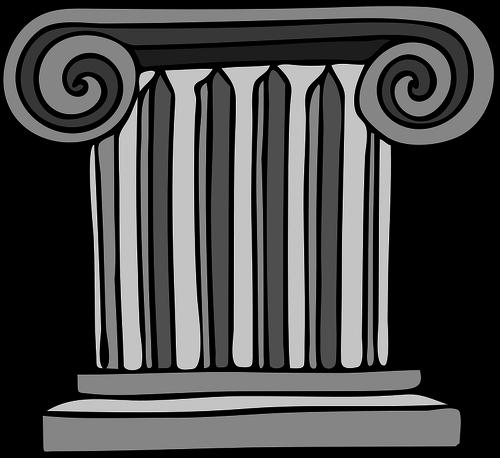 clip art free library Roman vector column. Image of pillar images