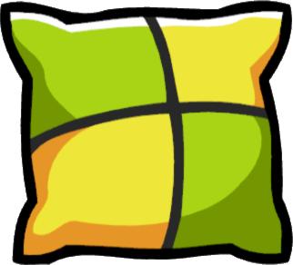 banner stock Pillow clipart. Accent scribblenauts wiki fandom