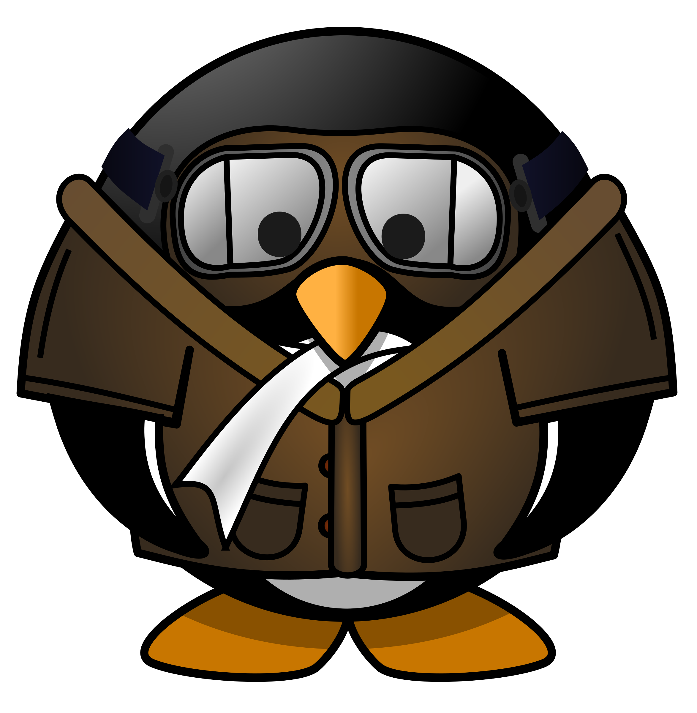 png library library Pilot clipart. Penguin big image png