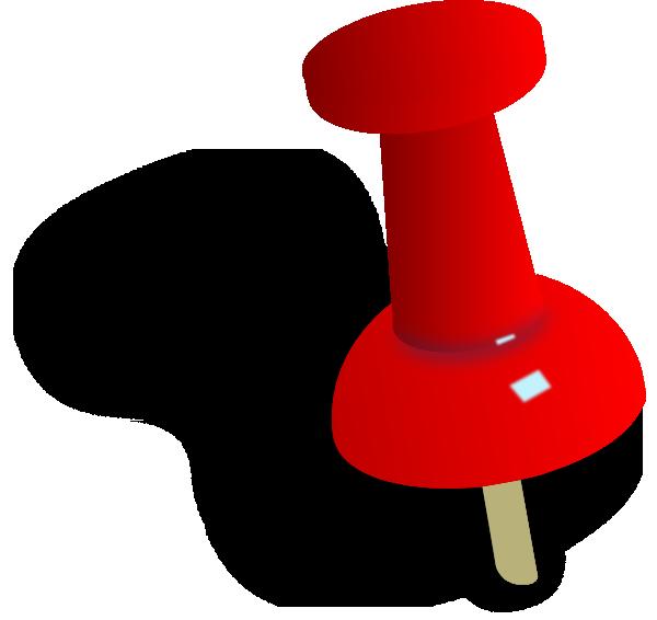 clip stock Push Pin Clip Art at Clker