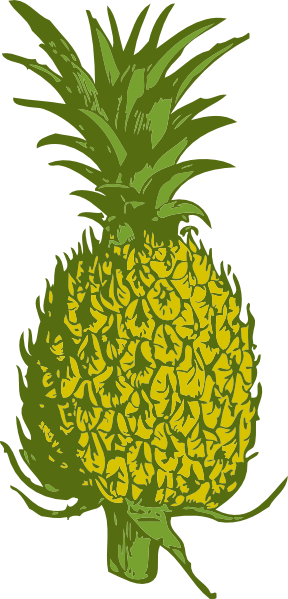graphic free Free pineapple clip art. Pinapple vector