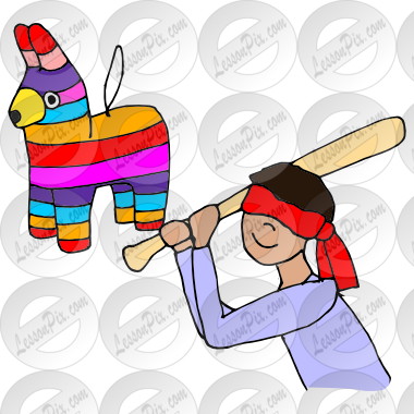 clip art freeuse Pinata clipart. Picture for classroom therapy.