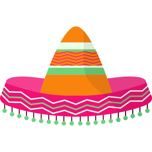 jpg freeuse Mexican transparent background. Hat free fashion icons