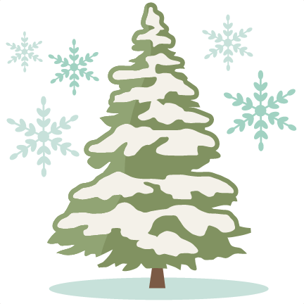 png freeuse Snowing clipart tree. Fir snow covered free.